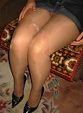 extreme cum on pantyhose small preview
