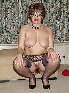 All clear, pussy glasses mature with
