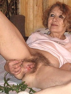 Granny big hairy photo